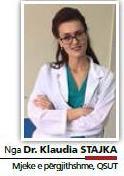 Dr. Klaudia Stajka, mjeke e përgjithshme, QSUT
