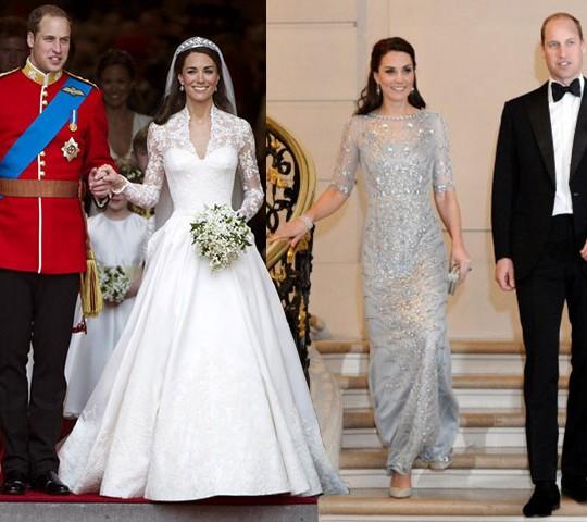 Matrimonio William E Kate : William e kate vjet më parë nga dasma mbretërore