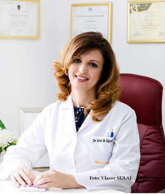 Dr.Shk. Blerta Gjoni, Dermatologe pranë Poliklinikës së Specialiteteve Nr. 3 Tiranë