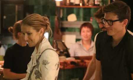 *PREMIUM-EXCLUSIVE* Céline Dion enjoys a candlelit dinner with her dancer