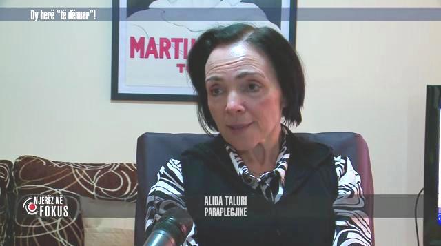 Aida Taluri, Paraplegjike