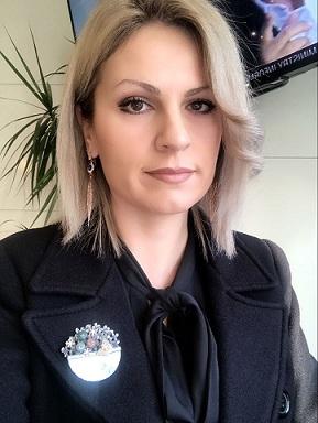 MSc. Valentina Telhaj, psikologe këshillimi, psiko-traumatologe EMDR. psikoterapiste CBT  terapiste ABA & proc, Mp. Psikologji Ligjore