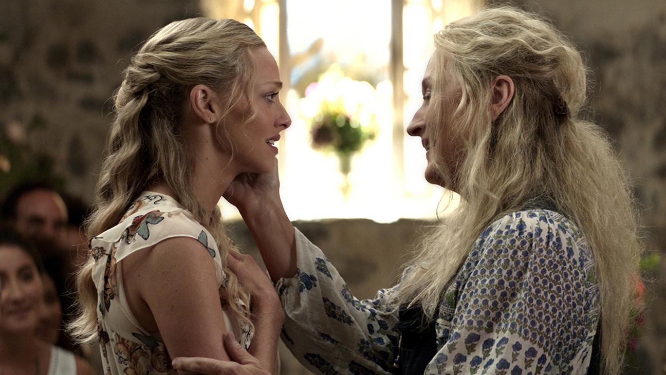 "Foto ilustruese nga filmi ""Mamma Mia! Here We Go Again"" (2018) Amanda Seyfried, Meryl Streep"