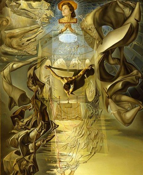 """Salvador Dalí (1904–1989) """"Assumpta Corpuscularia Lapislazulina"""""""
